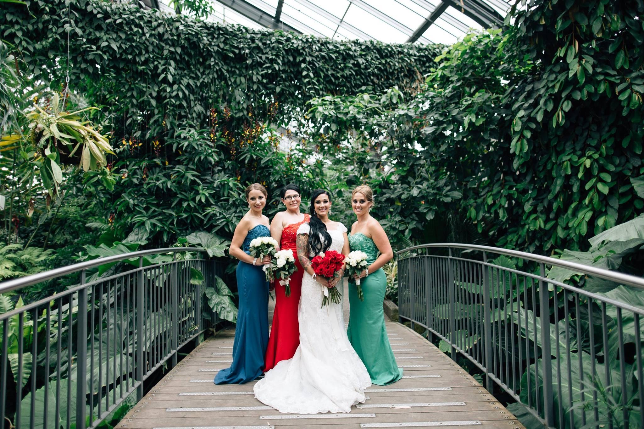 Bride Joe and her Maids
