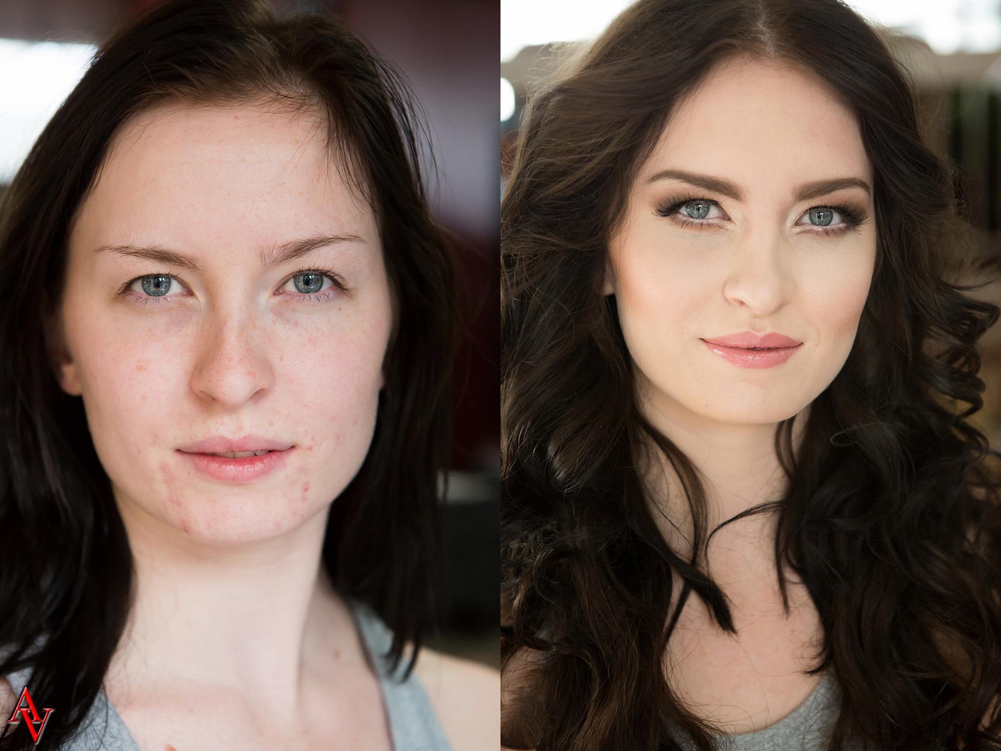 natural makeup/ makeover