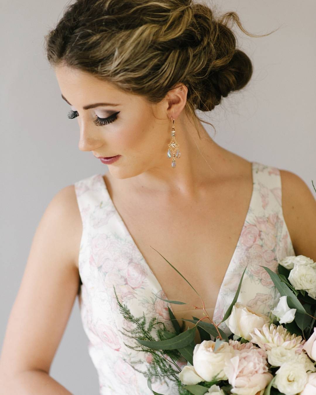 Bridal Hair and Makeup by Monika photo Gingersnap photography