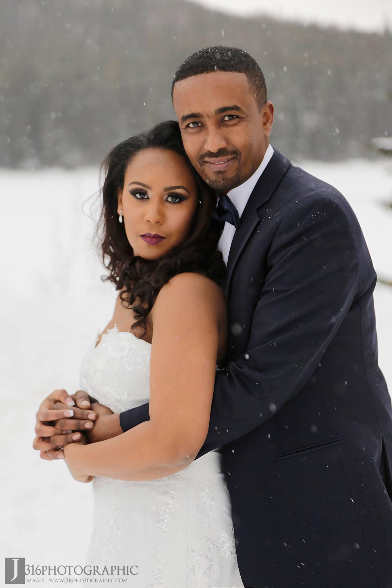 Banf winter wedding by Monika