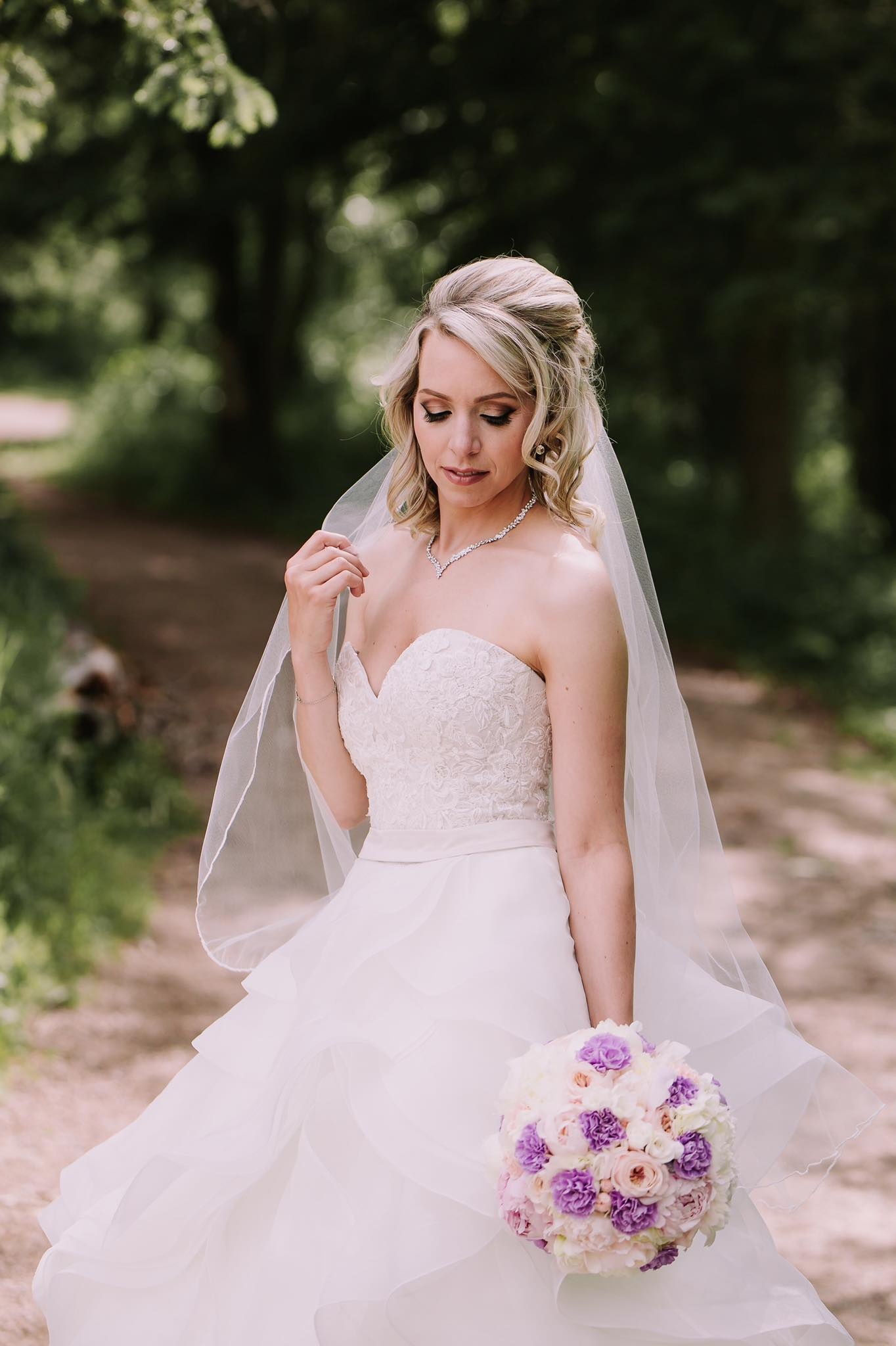Beautiful Bride Stephanie-photo Redbloom photography