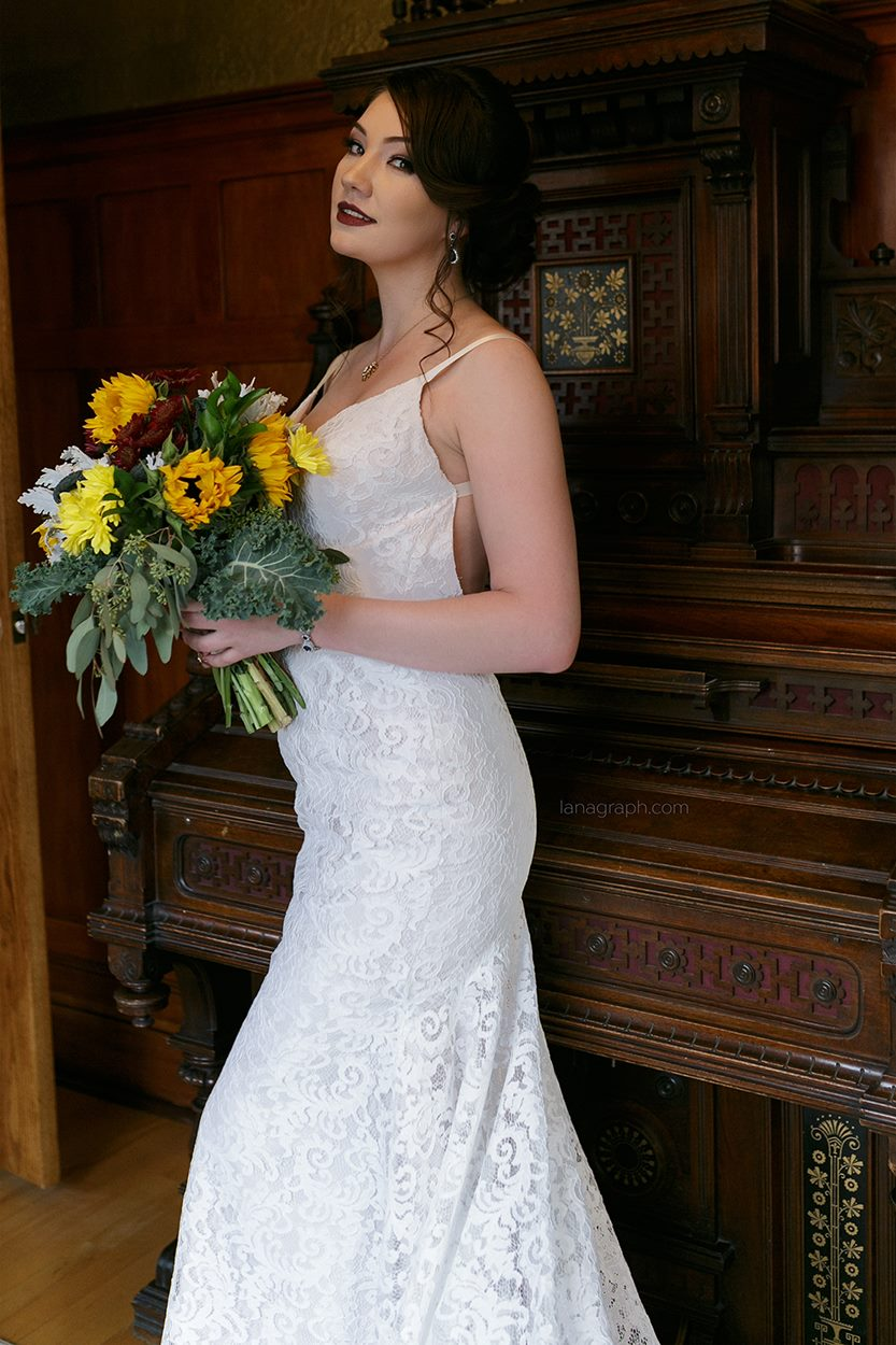 beautiful Bride Rowen-makeup by Monika Hair by Jamie - photo Lana Graph