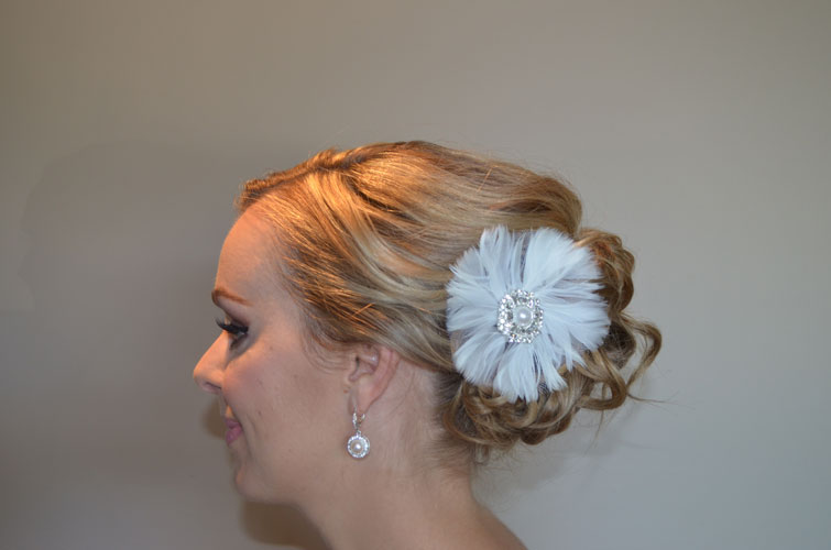 After, (bridal up-do) by Jamie