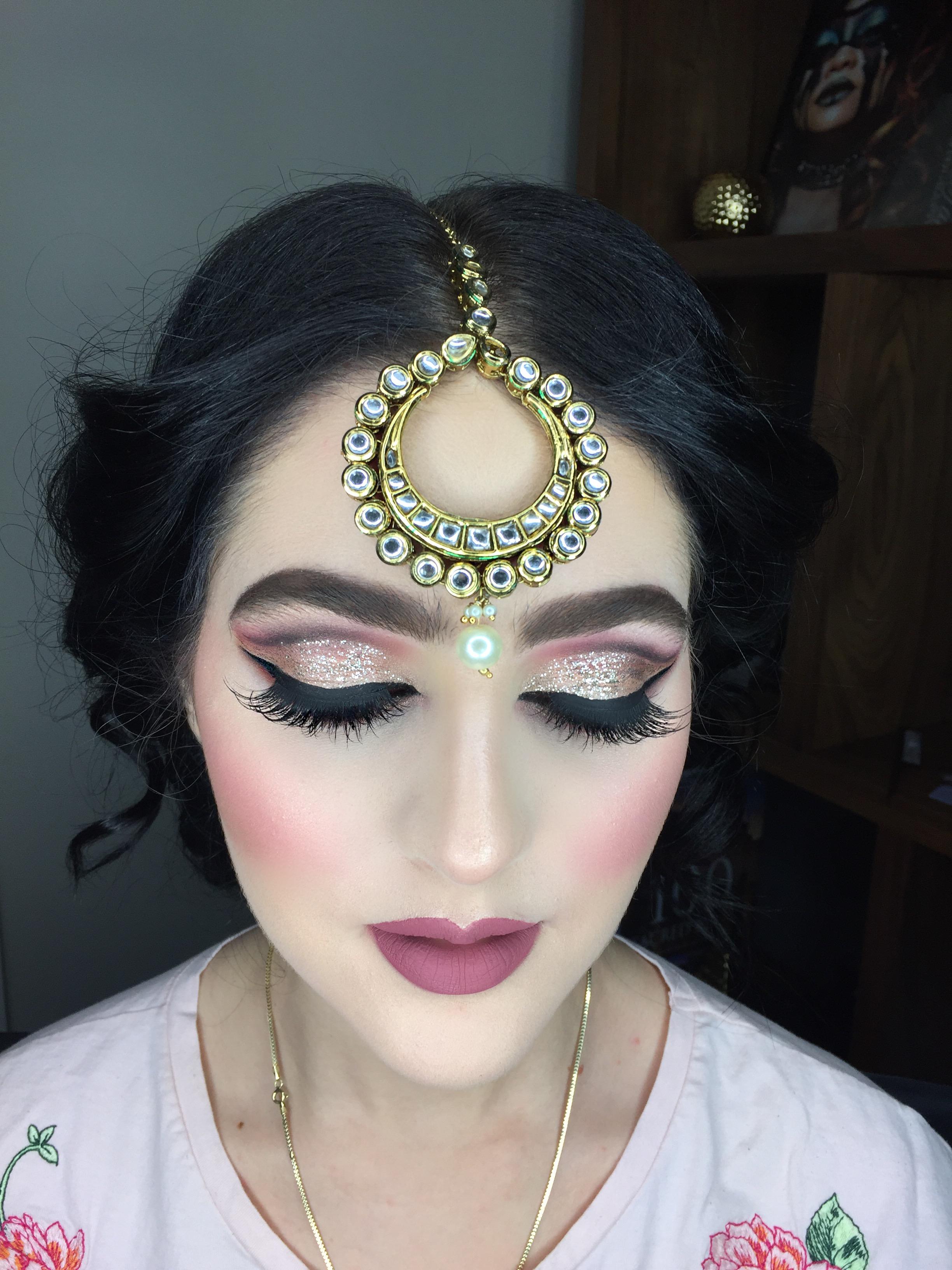 Bollywood hair and makeup