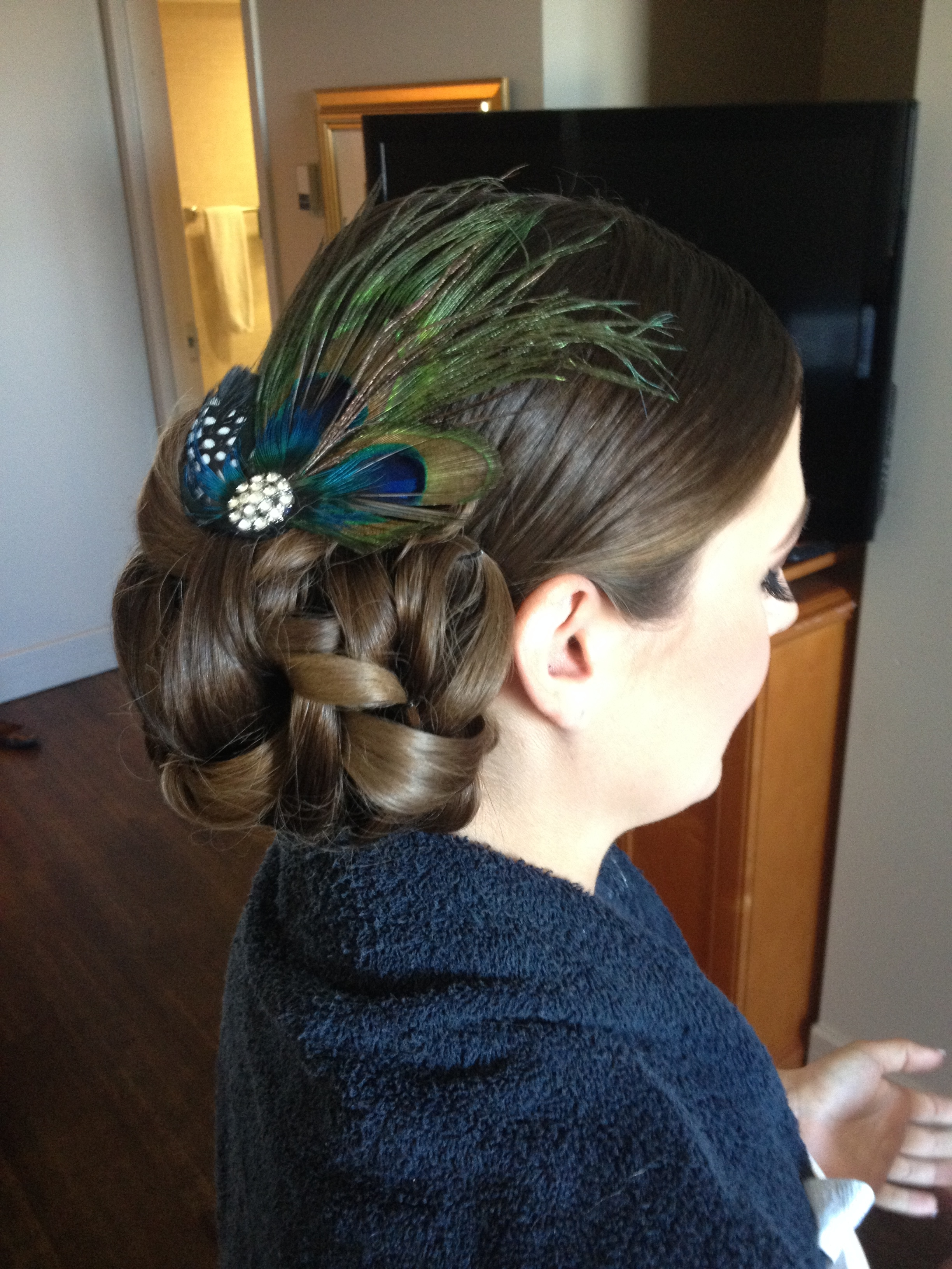 bridal up do-by Jamie