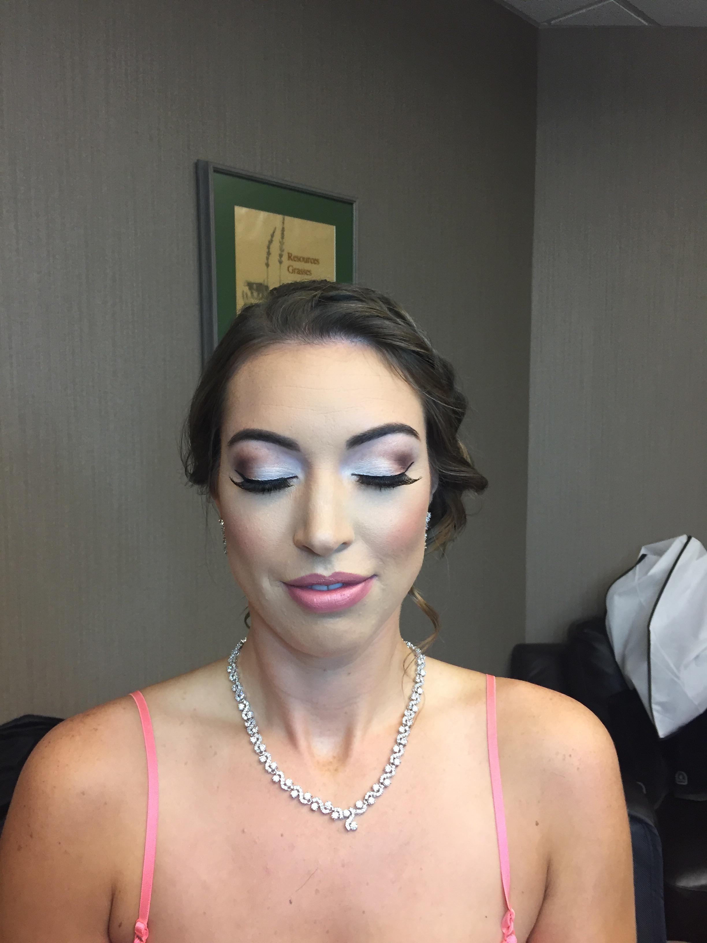 bride after-hair by Jamie makeup Monika