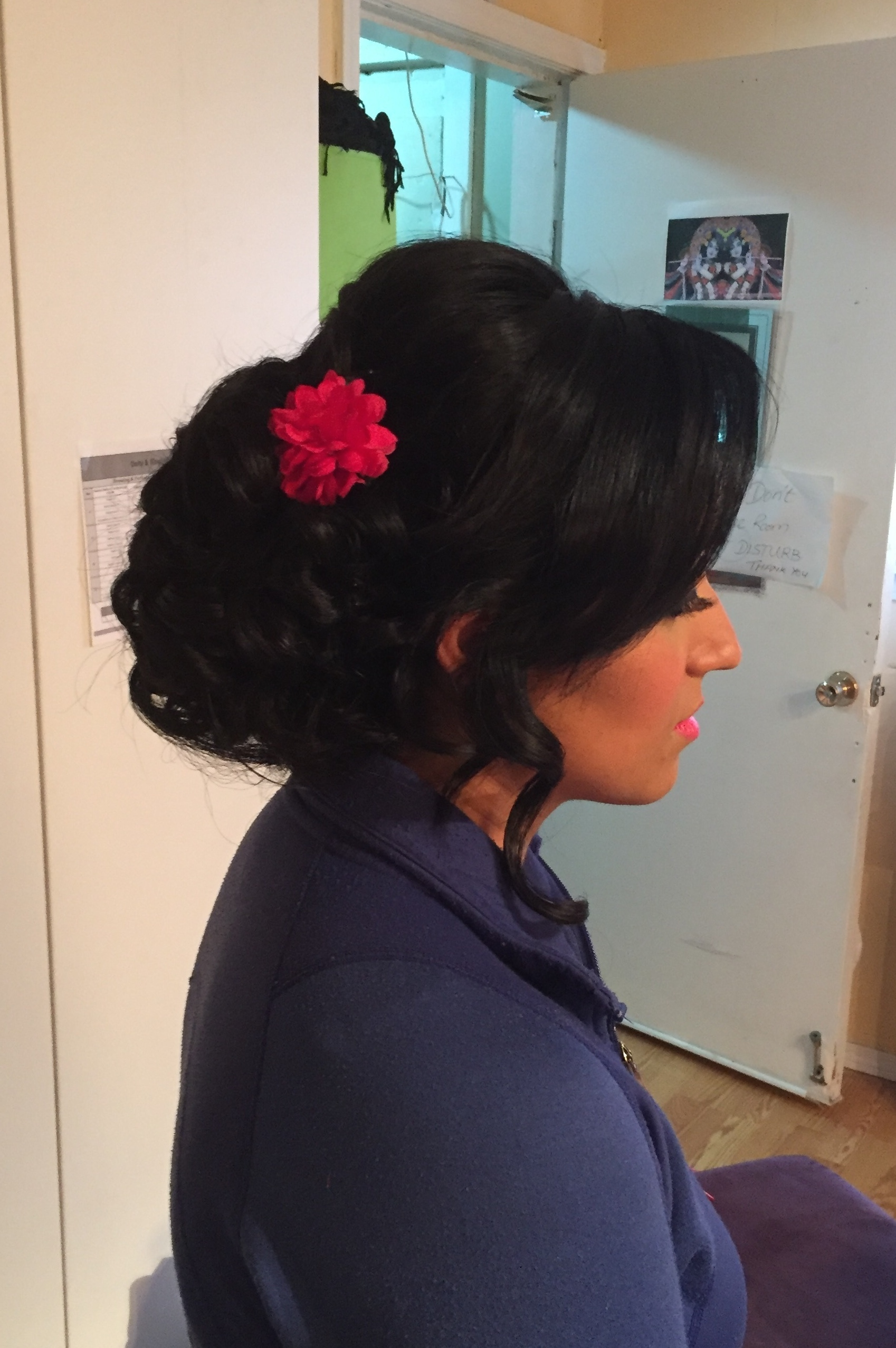 bridal up-do-by Jamie