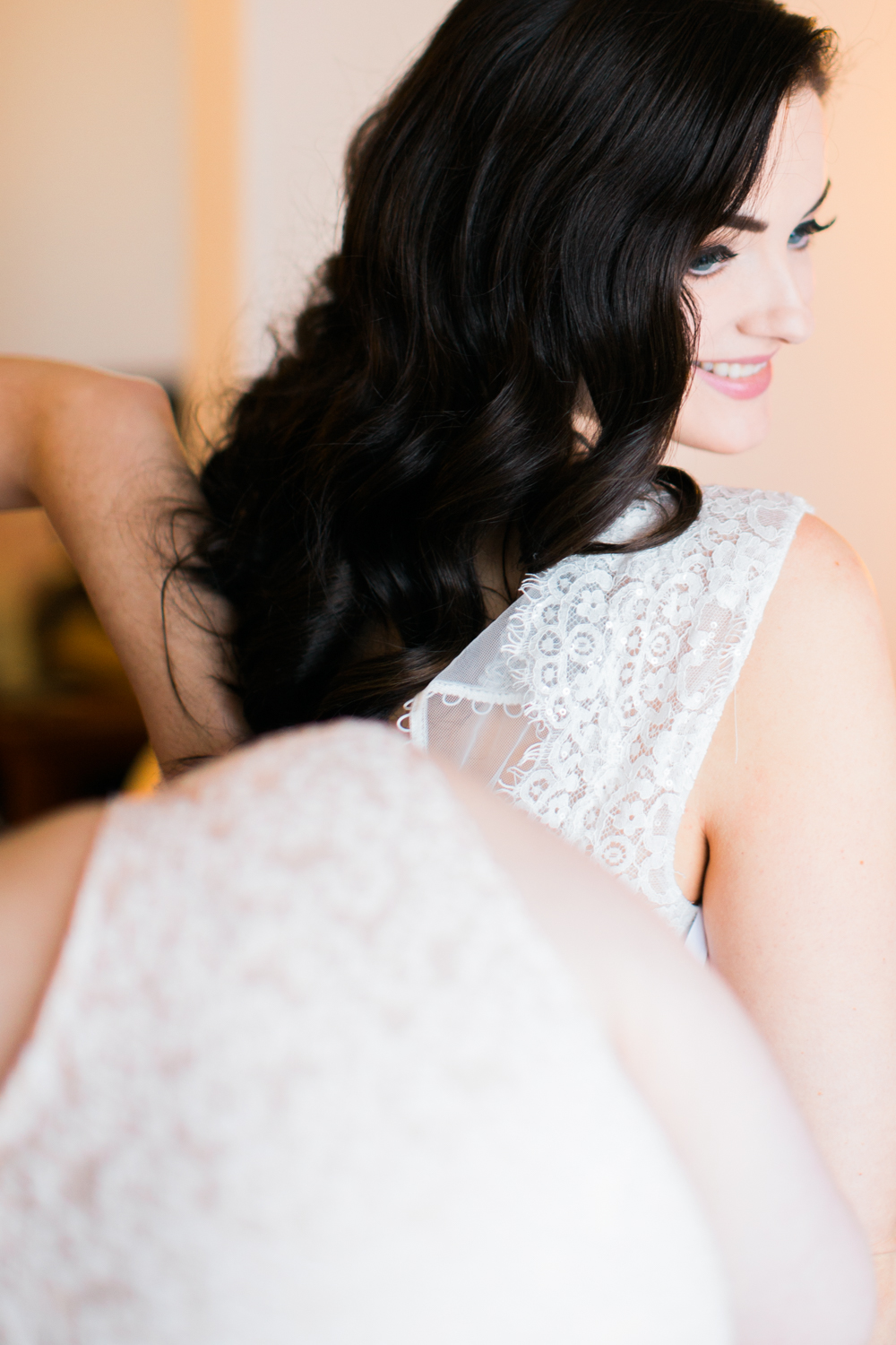 Beautiful Bride Candace-hair Jamie ;makeup by Monika-photo Raraaphoto