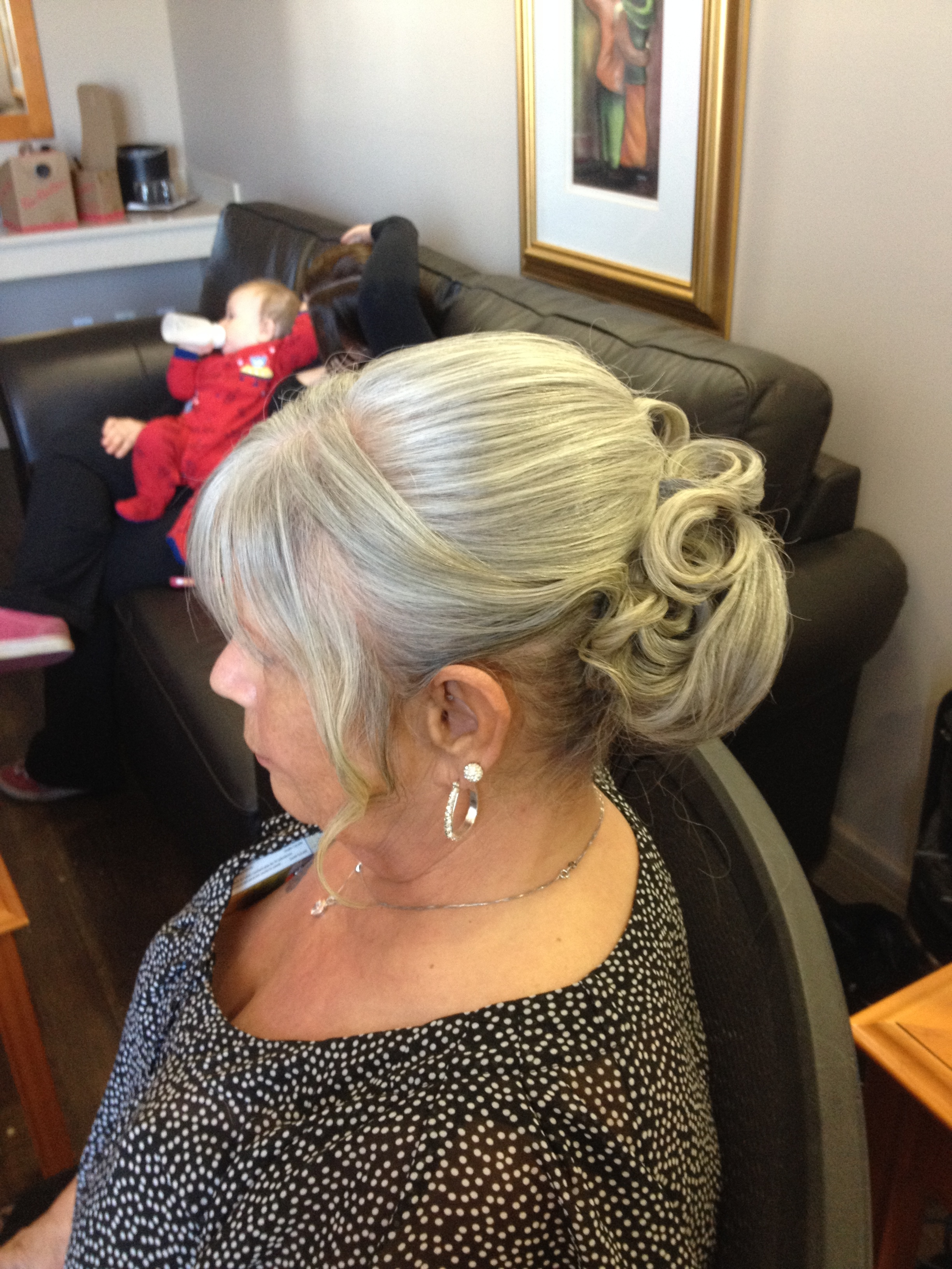 special occasion hairstyle