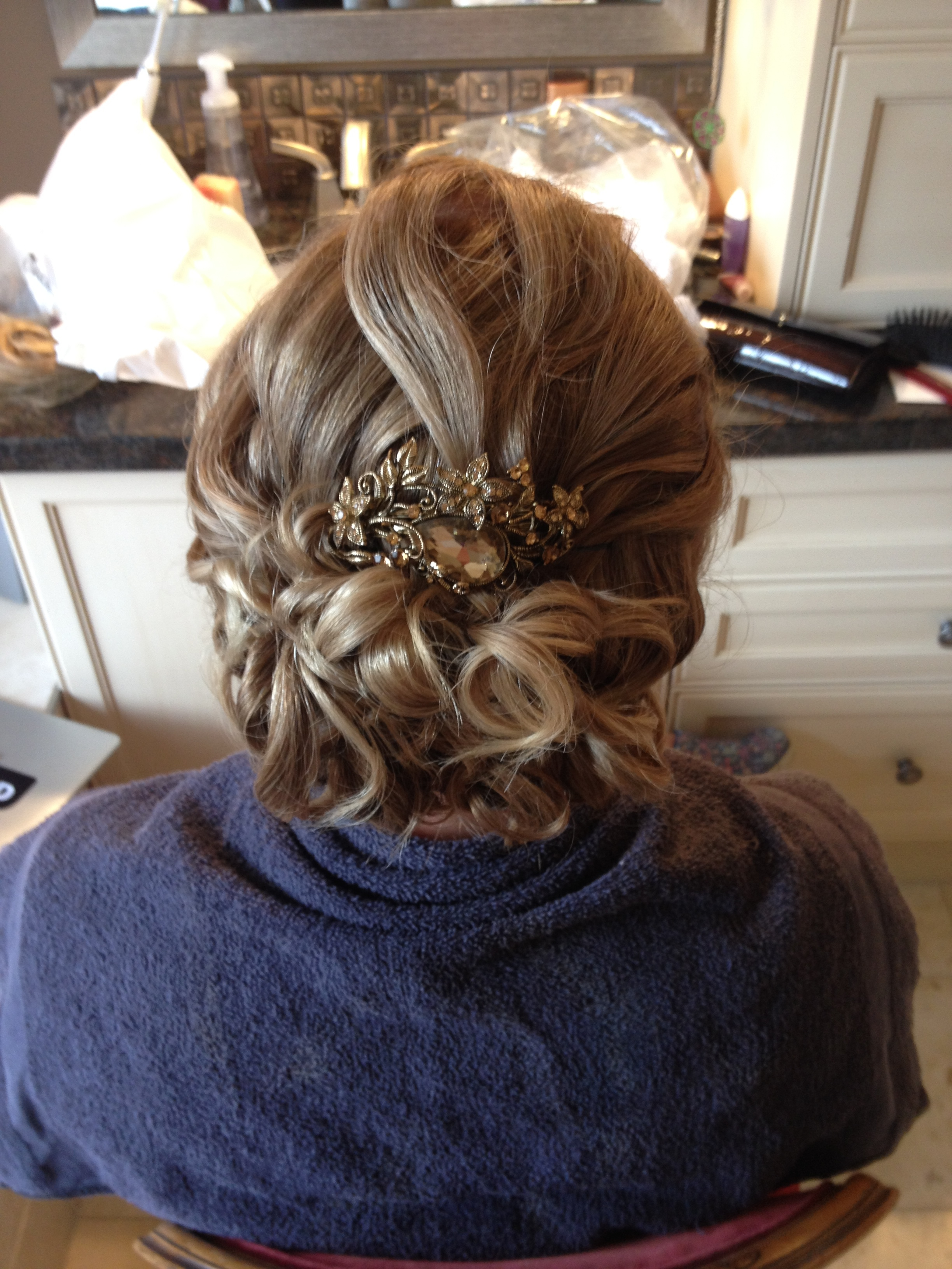 elegant up-do by Jamie