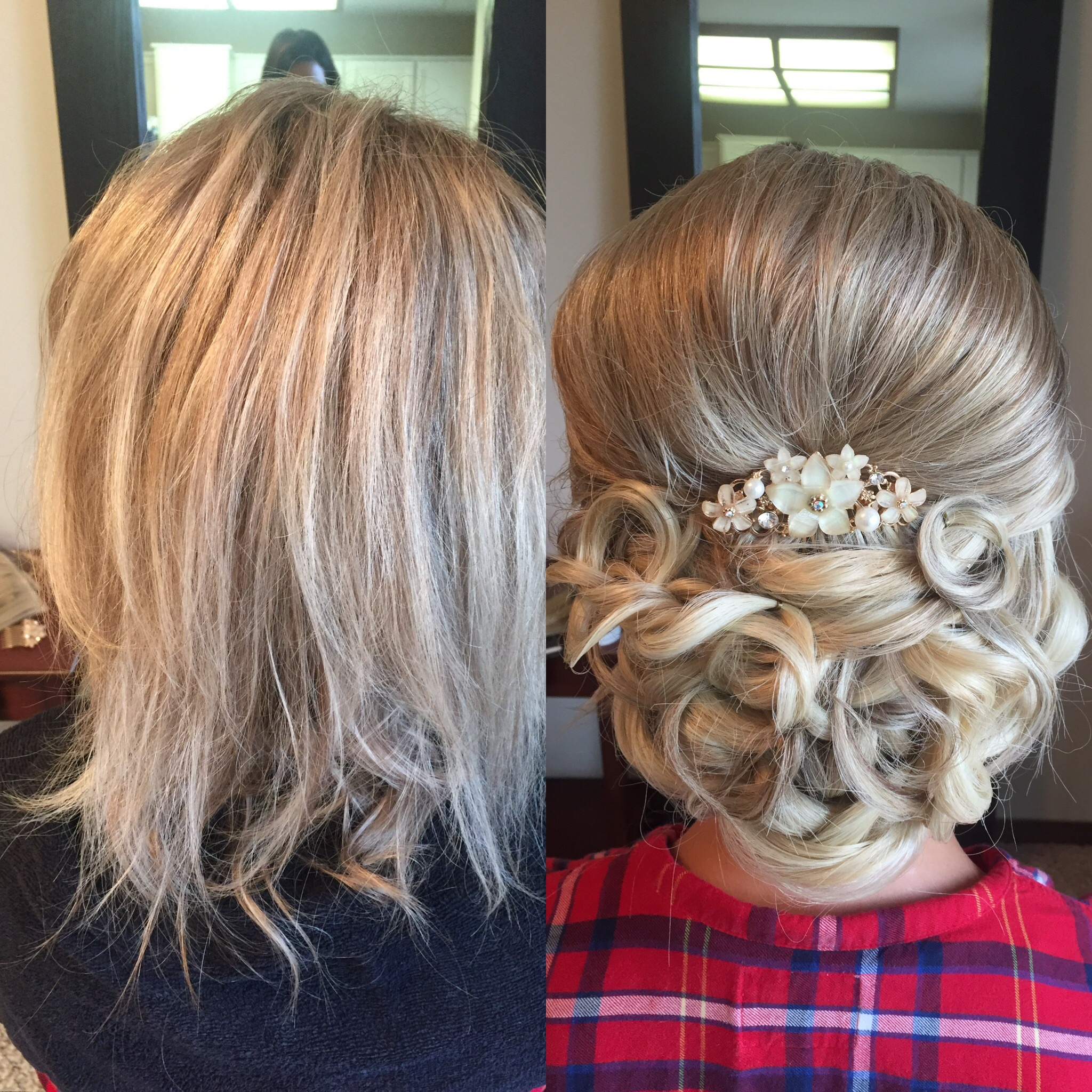 bridal undo before and after by Kara