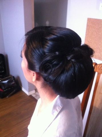 bridal updo-by Jamie